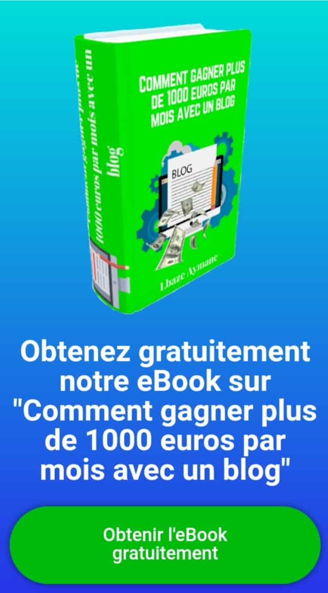 Ebook en rapport avec l'article de blog