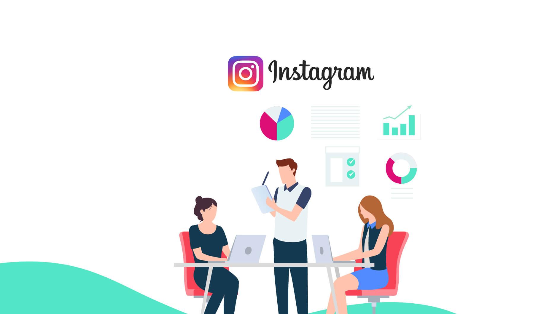 être présent sur Instagram