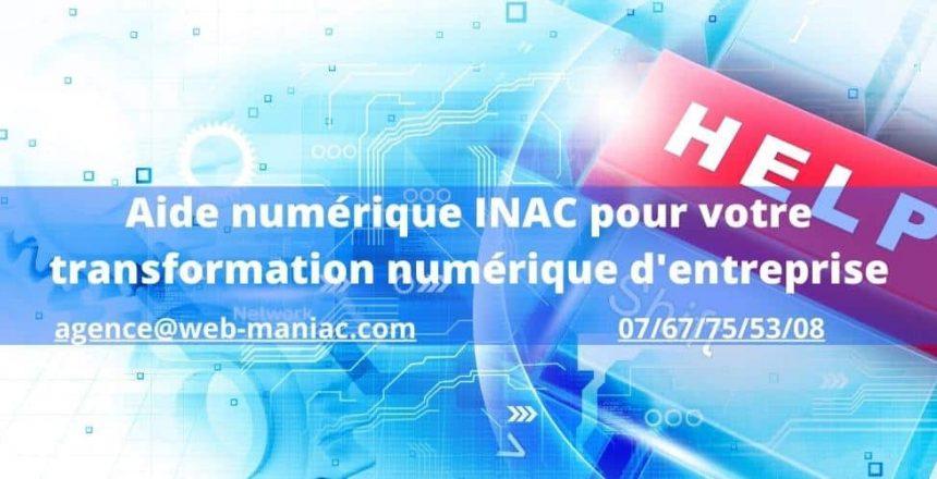 aide numérique INAC