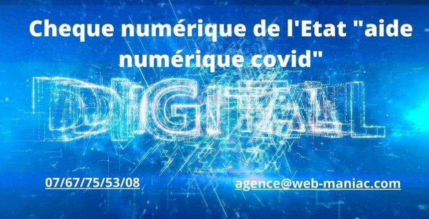 chèque numérique covid