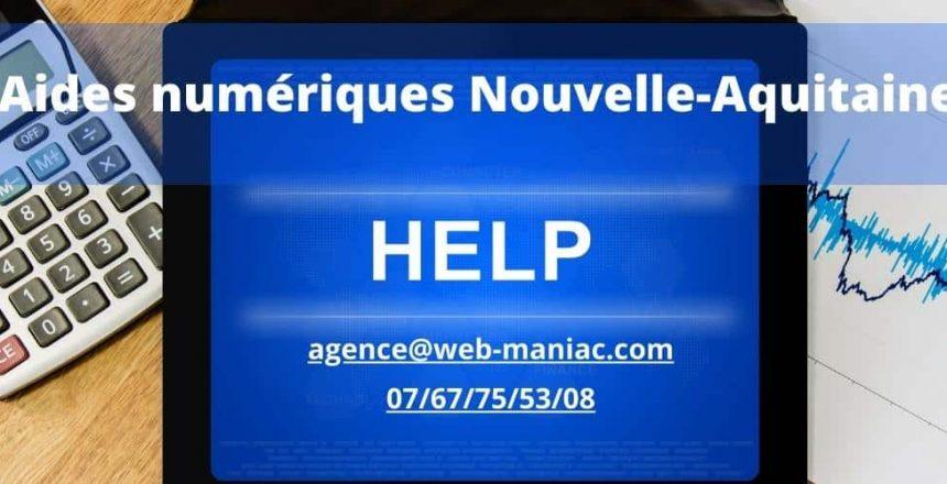 aides numériques nouvelle-aquitaine