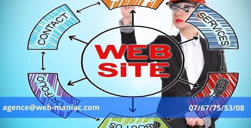 prestataire de création de site web