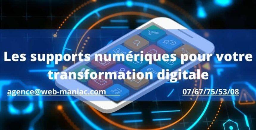 supports numeriques pour transformation digitale